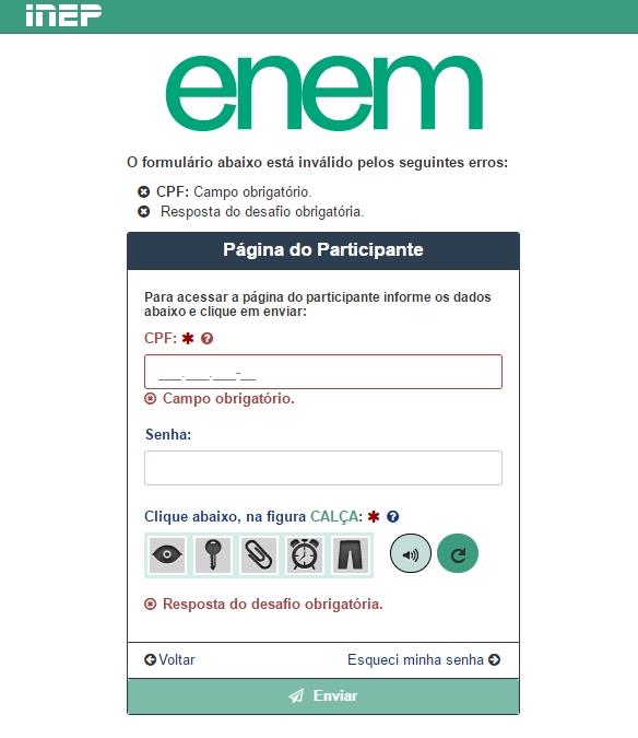 Nota do ENEM