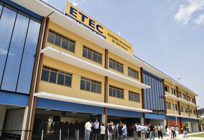 Cidades que possuem unidade ETEC